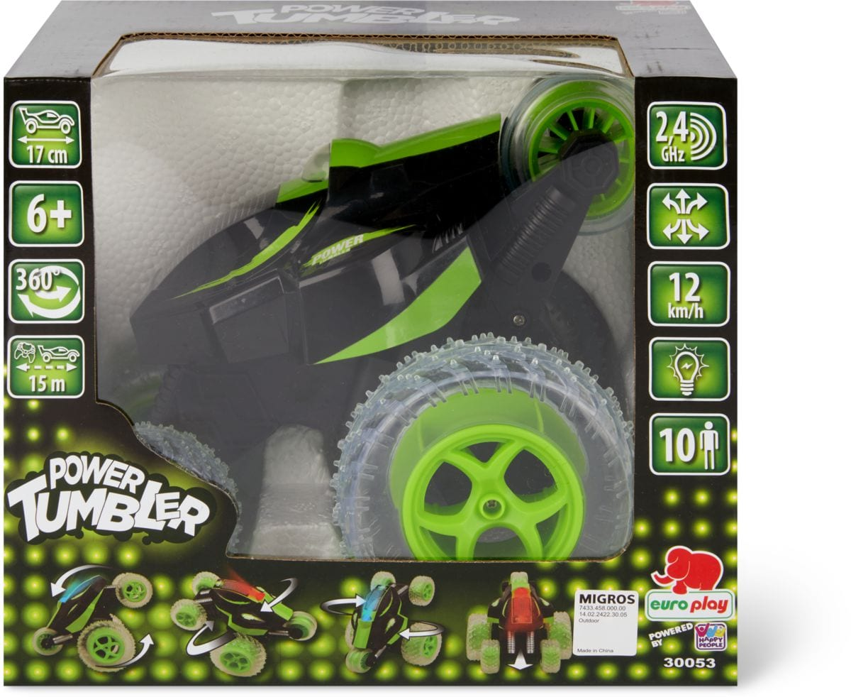 RC Power Tumbler Spins Outdoor-Spielzeug