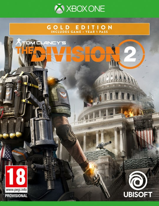 Xbox One - Tom Clancy's The Division 2 - Gold Edition  Box