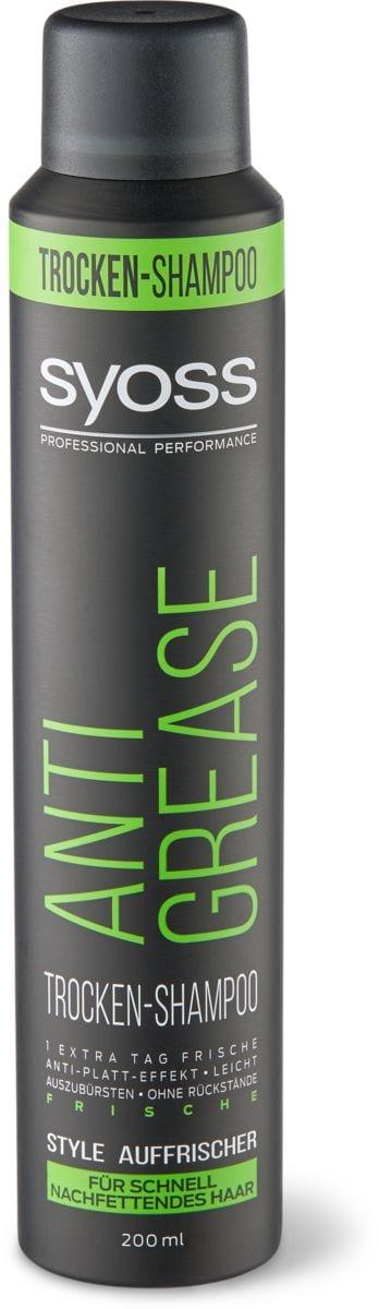 Syoss Anti-Grease shampoo secco