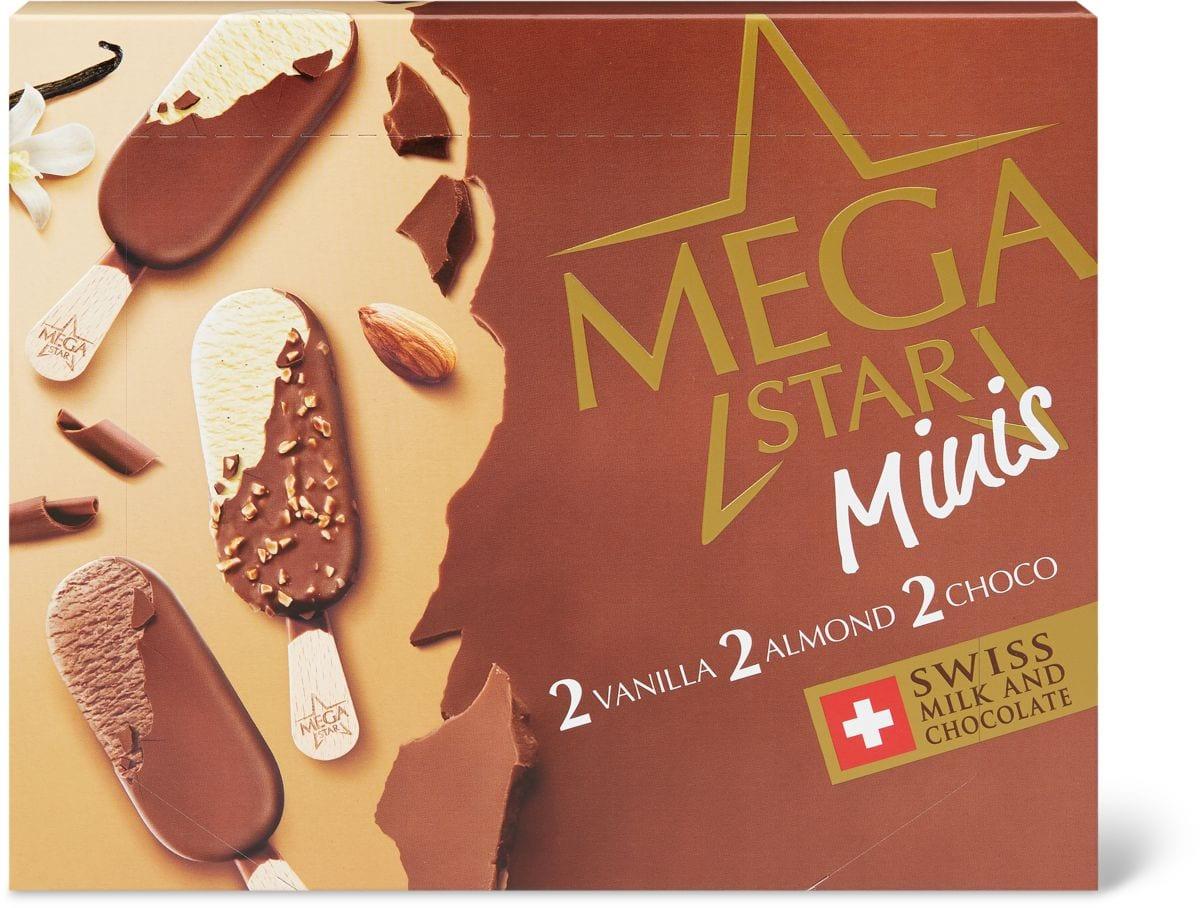 MegaStar mini Vanilla/almond/choco