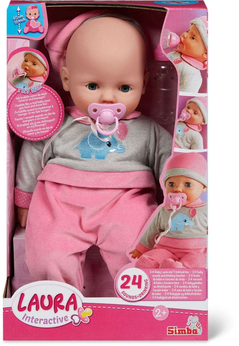 Interactive 40 cm Puppe