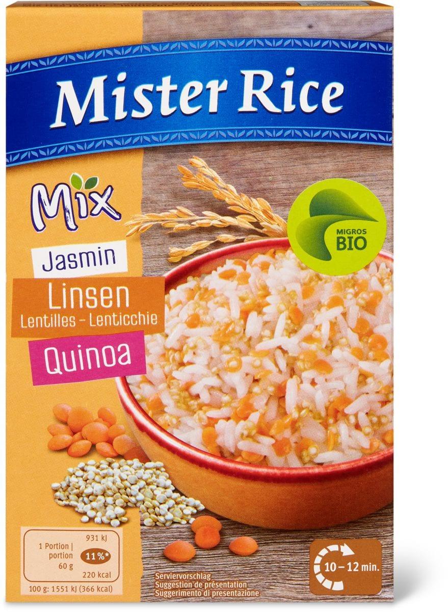 Bio Mister Rice Jasmin lenticchie-quin.