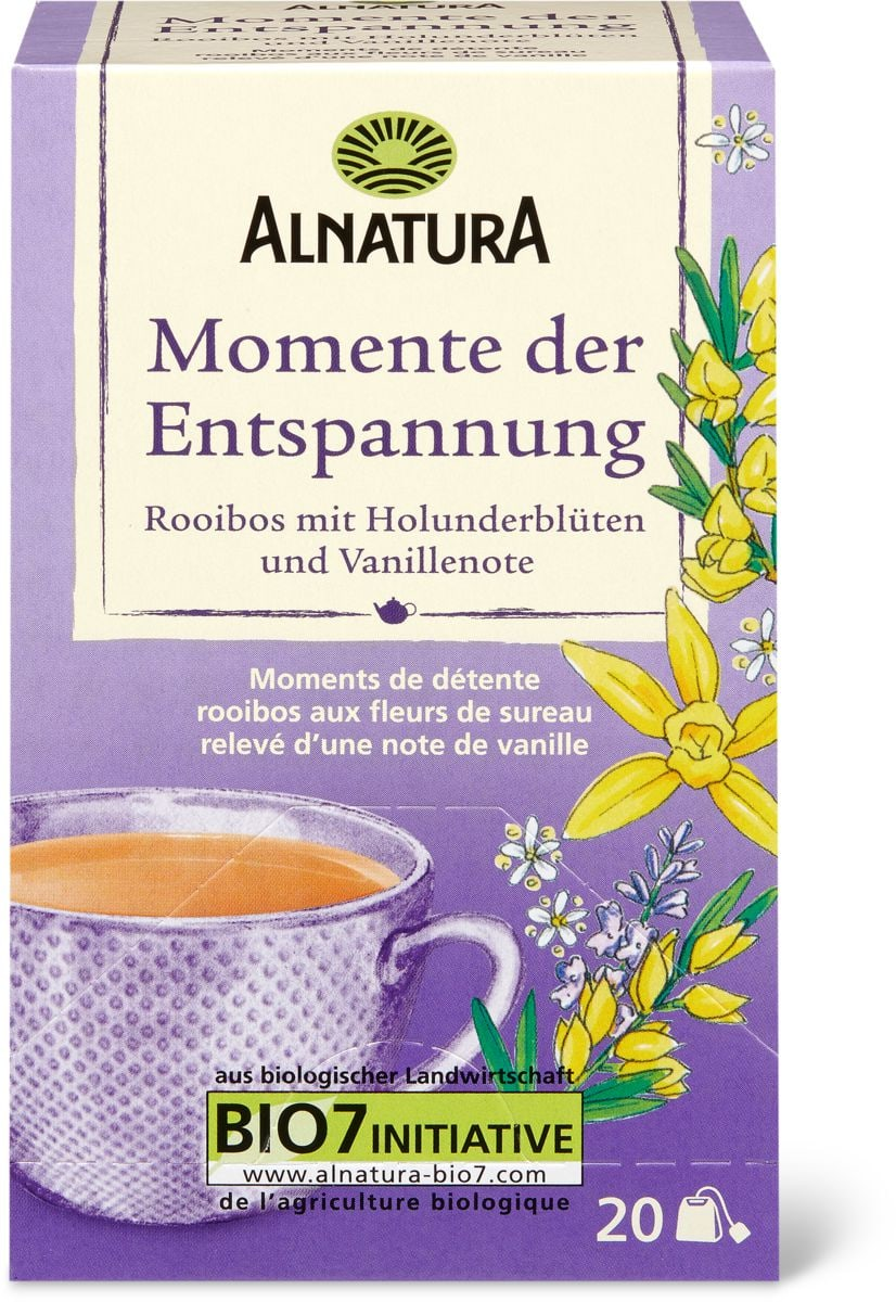 Alnatura Tee Momente Der Entspannung Migros Alnatura