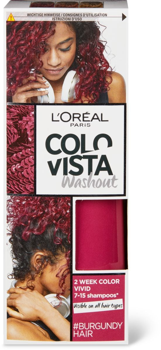 L'Oréal Colovista Washout #burgundy
