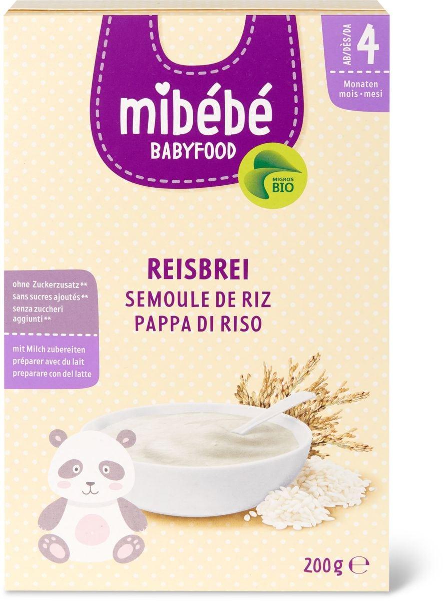 Mibébé pappa di riso