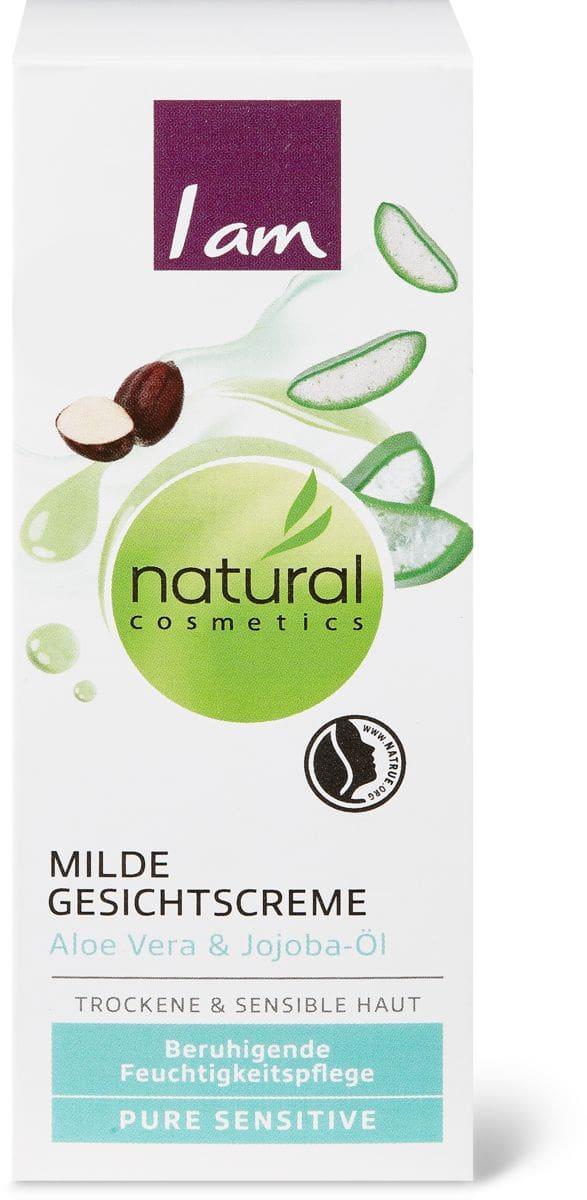 I am Natural Cosmetics pure sensitive Crème douce pour le visage