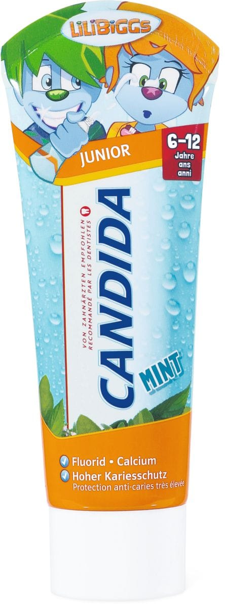 Candida dentifricio Junior Mint