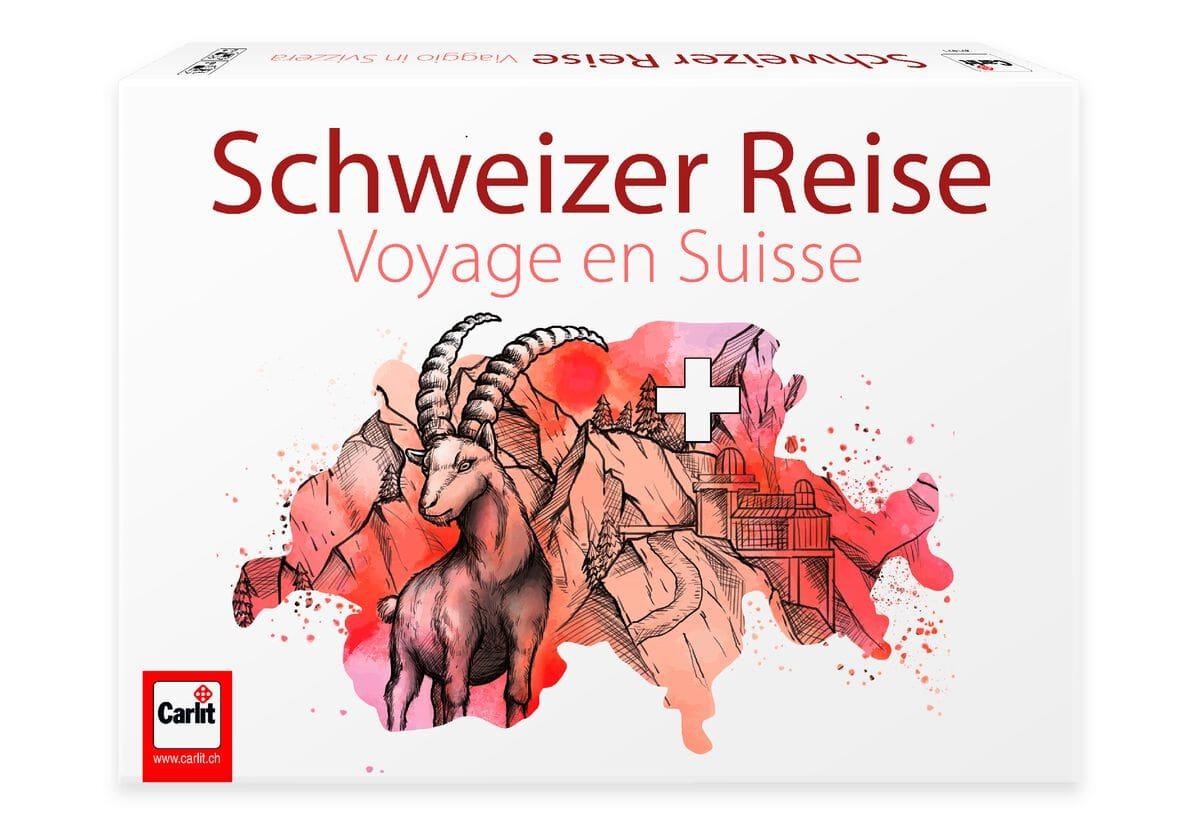 Carlit Schweizer Reise Jeux de société