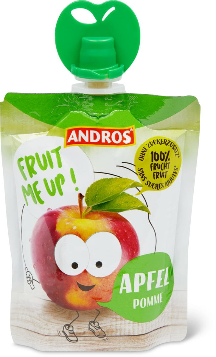 Andros fruit me up Compote de pommes