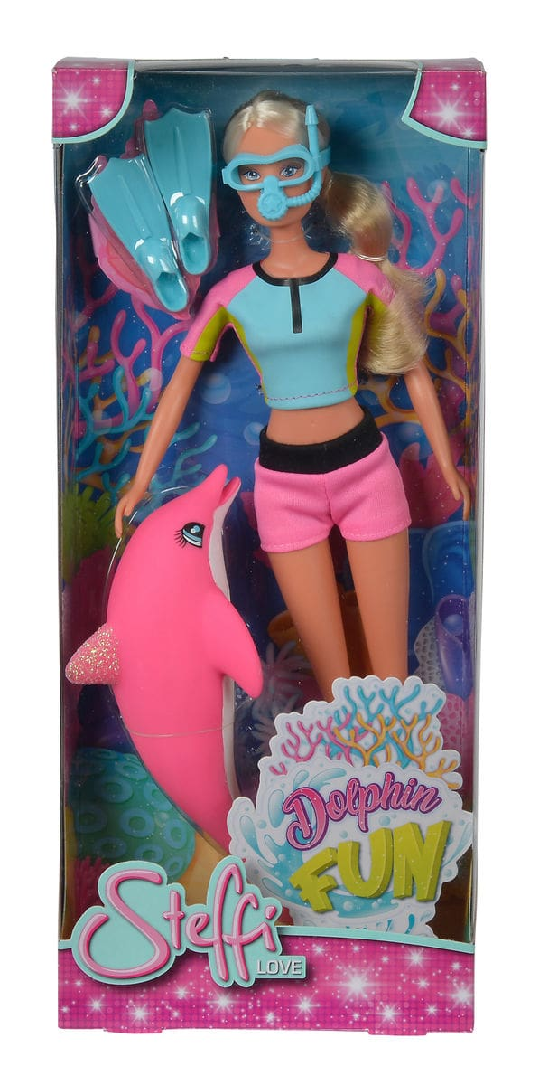 Simba Steffi Love Dolphin Fun Puppe