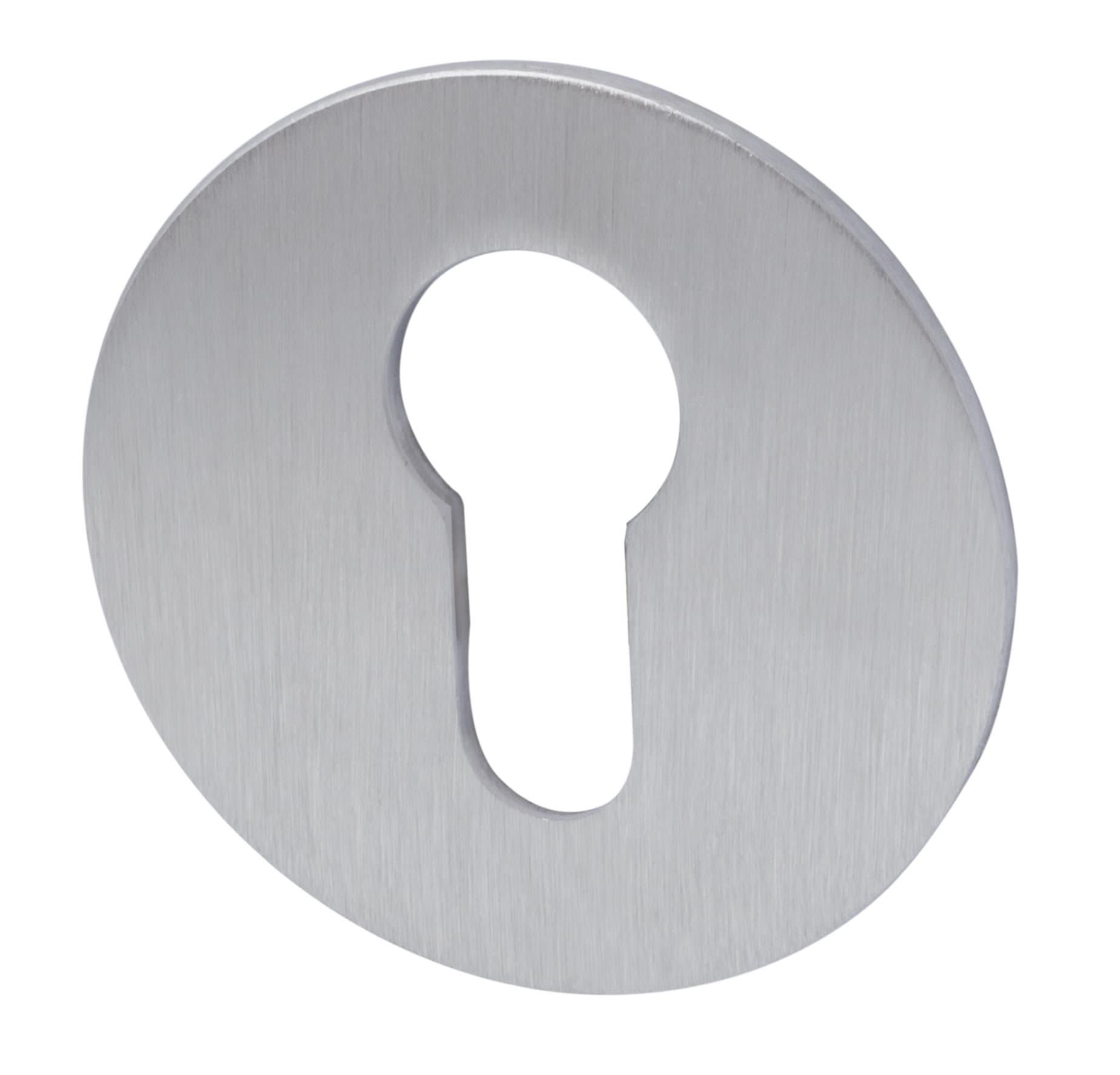 Alpertec Schlüsselrosetten Plano PZ rund Schutzrosette