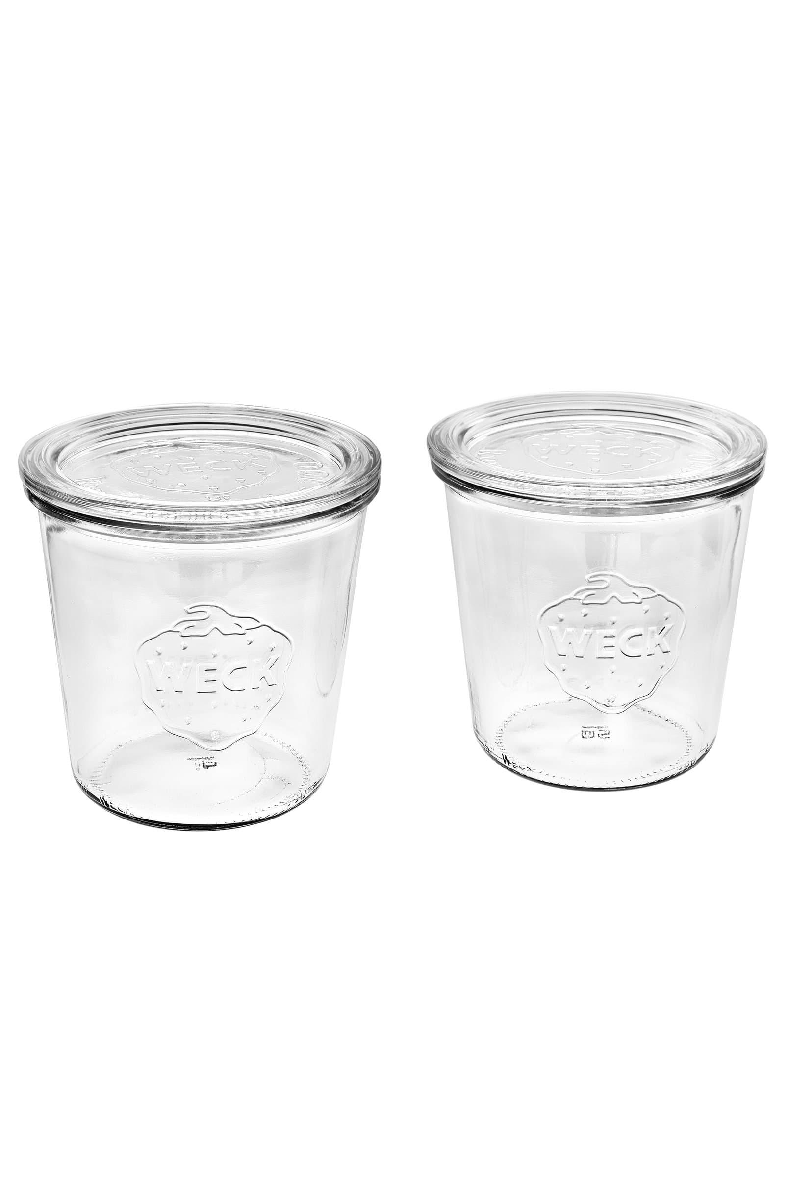 Weck WECK® Rundrandglas-Set