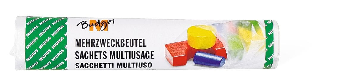 M-Budget Sacchetti Multiuso 20 x 30cm