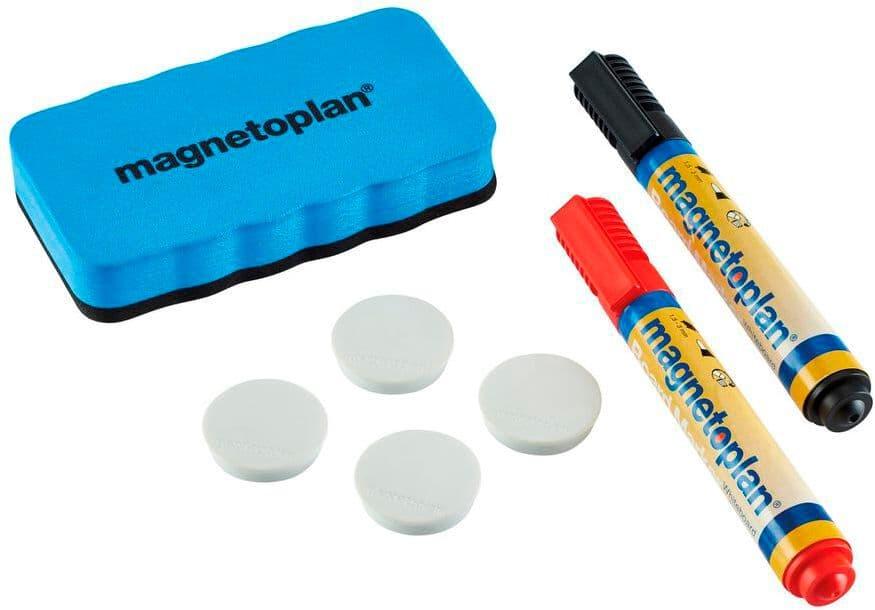 Magnetoplan Whiteboard Starter-Kit Tableau blanc