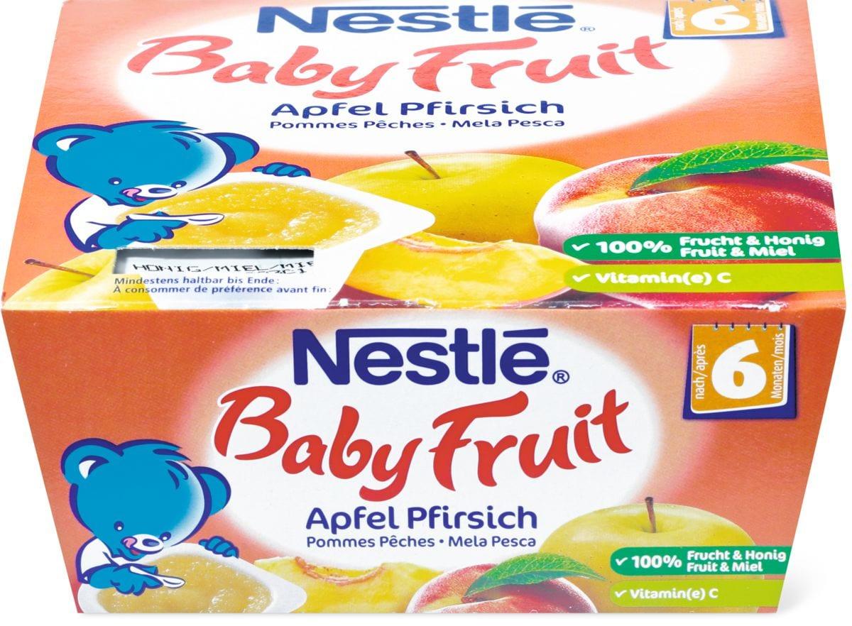 Nestlé Baby Fruit Apfel Pfirsich Honig