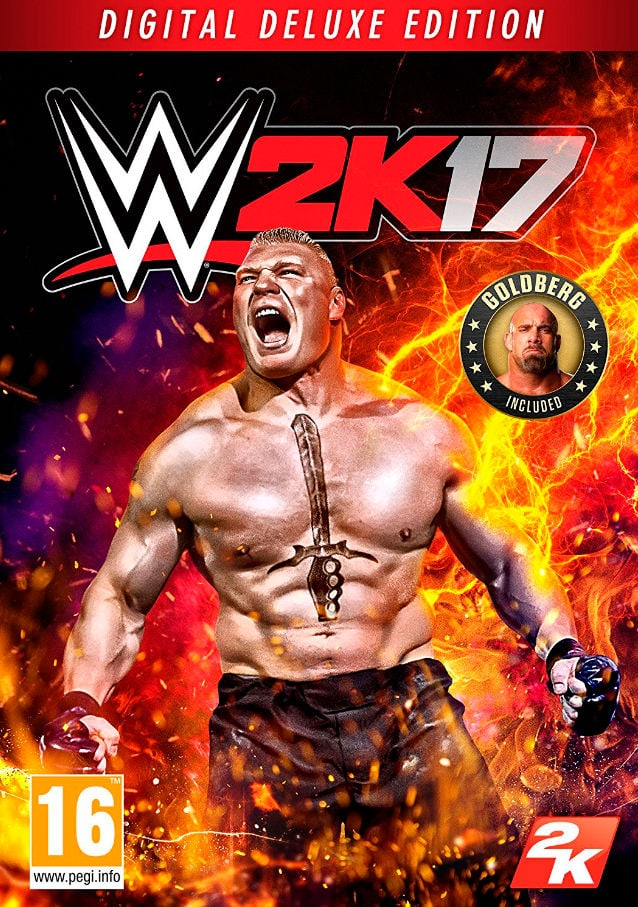 PC - WWE 2K17 Digital Deluxe Edition Download (ESD)