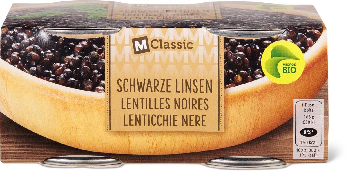 Bio M-Classic Lentilles noires