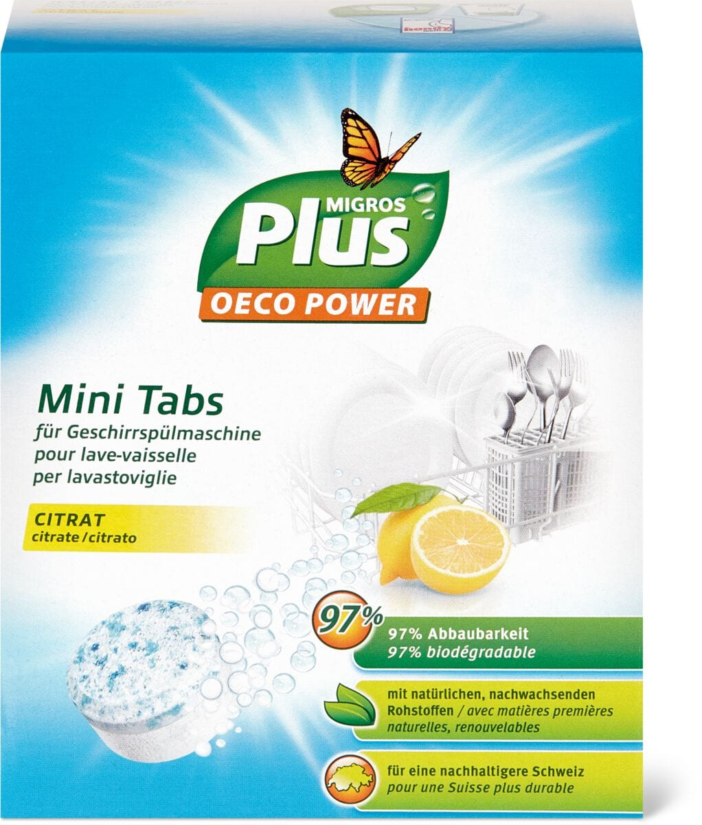 M-Plus Mini pastiglie per lavastoviglie