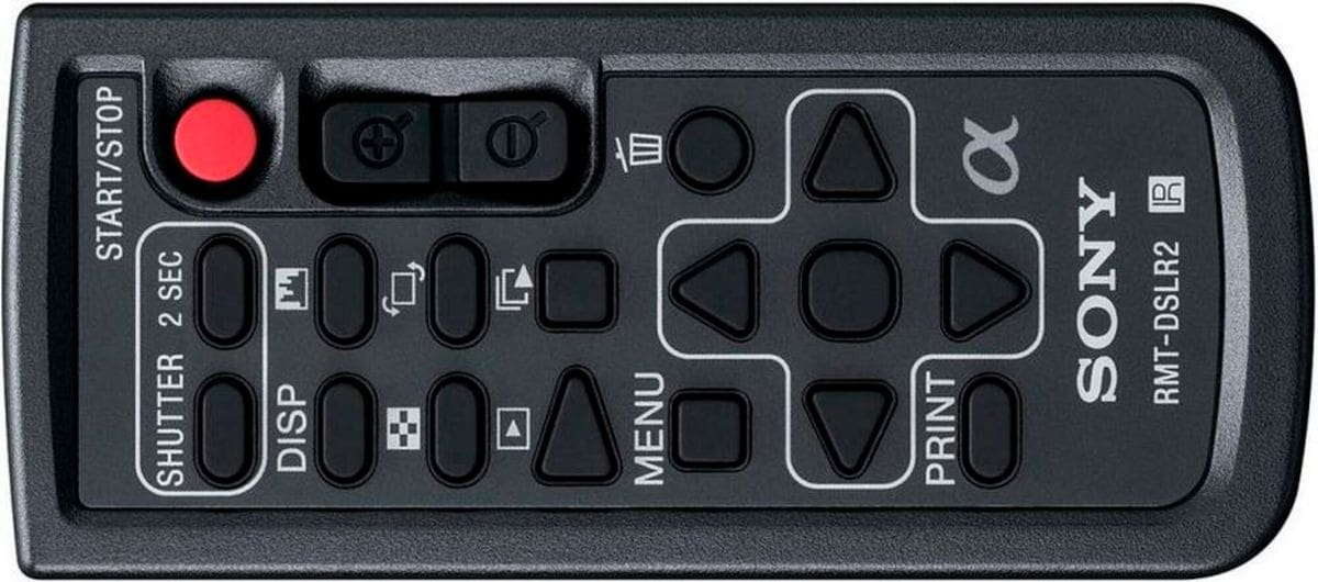 Sony RMT-DSLR2 IR RemoteControl SLT/NEX Fernbedienung