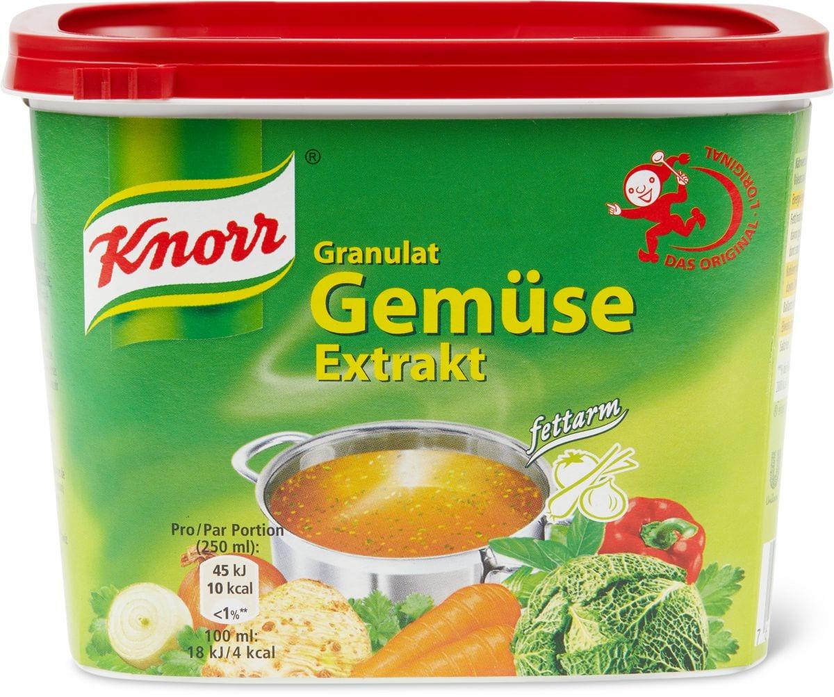 Knorr Gemüse Extrakt fettarm