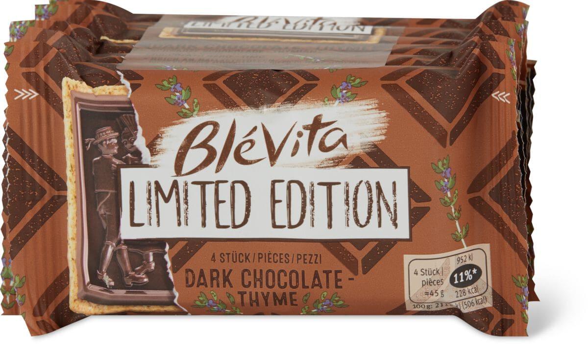 Blévita dunkle Schokolade & Thymian