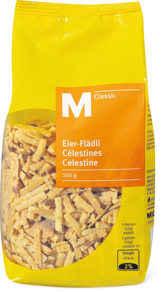 M-Classic Célestines aux oeufs