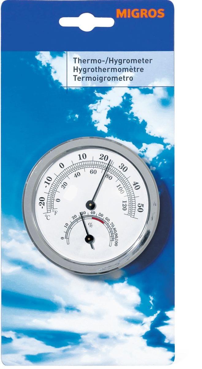 Thermo hygrometer migros for Migros brico