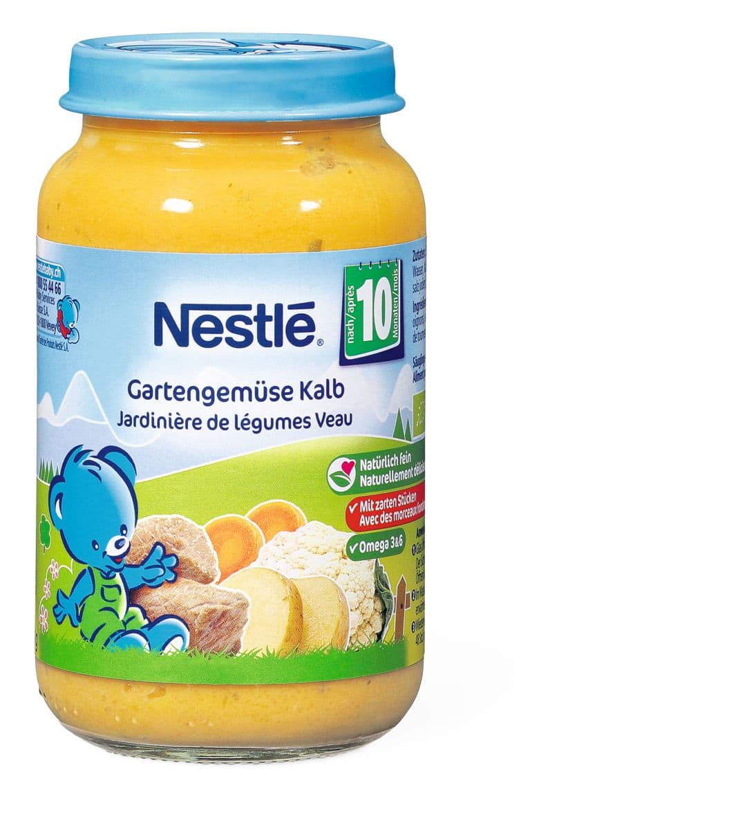 Bio Nestlé Jardinièr de légumes veau