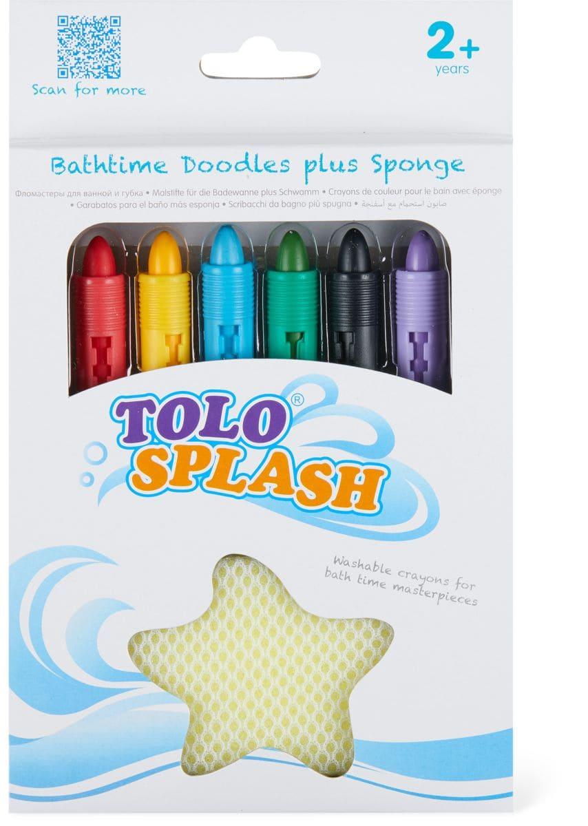 Tolo Splash Malstifte für die Badewanne