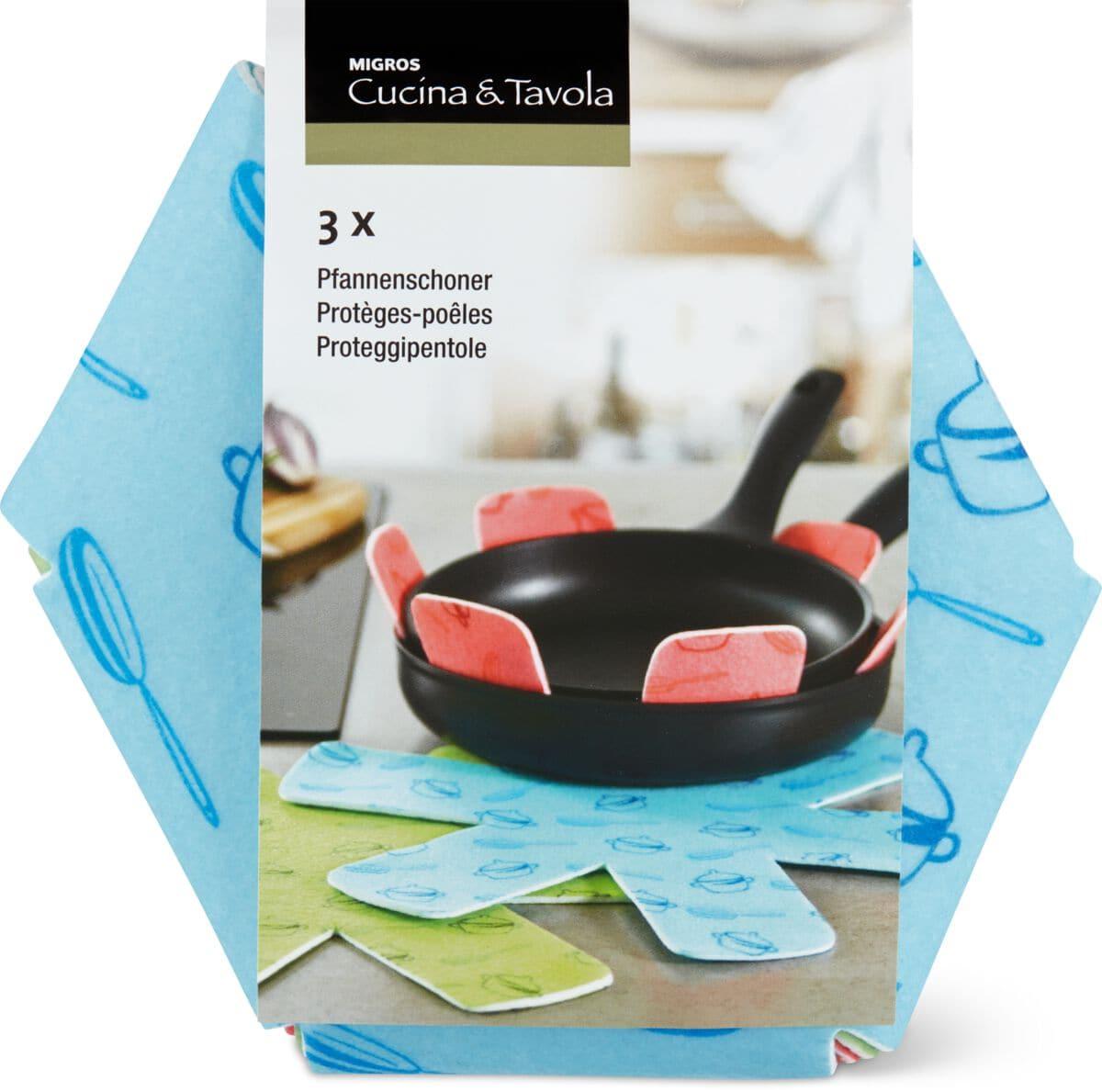 Cucina & Tavola Protèges-poêles 3 pièces