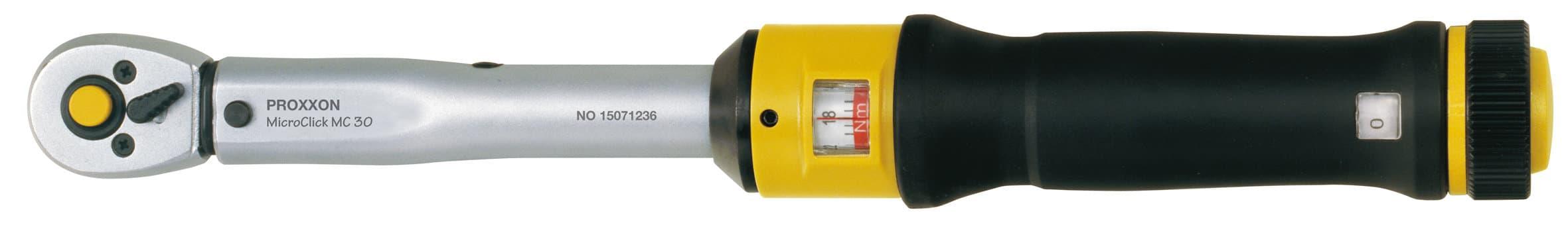 """Proxxon Clé dynamométrique MicroClick MC 30, 6 -30 Nm, 1/4"""""""