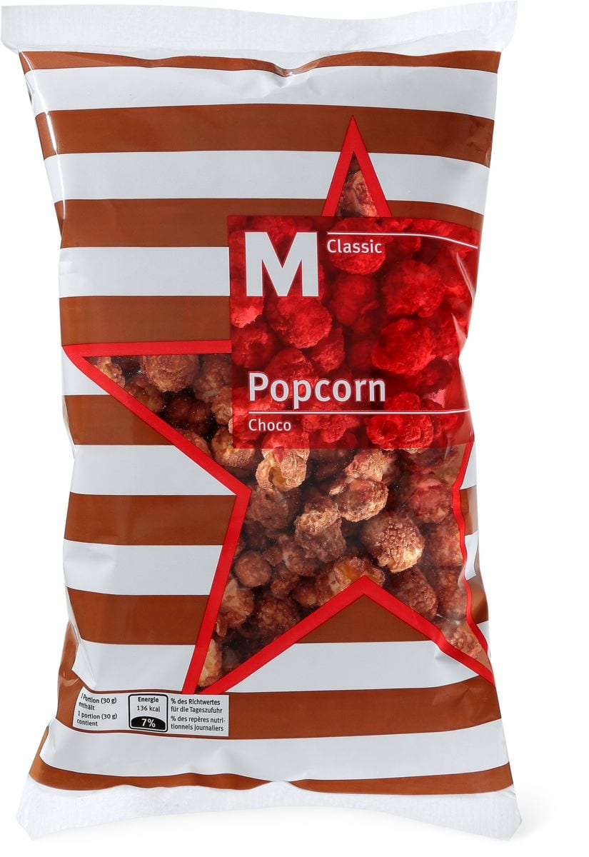 M-Classic Popcorn Choco in Sonderpackung