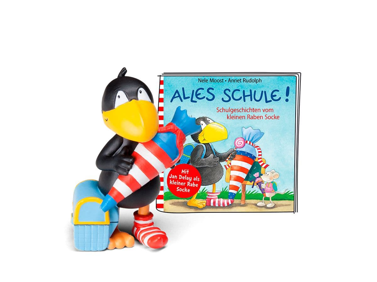 Tonies   Der kleine Rabe Socke - Alles Schule! (DE) Hörbuch