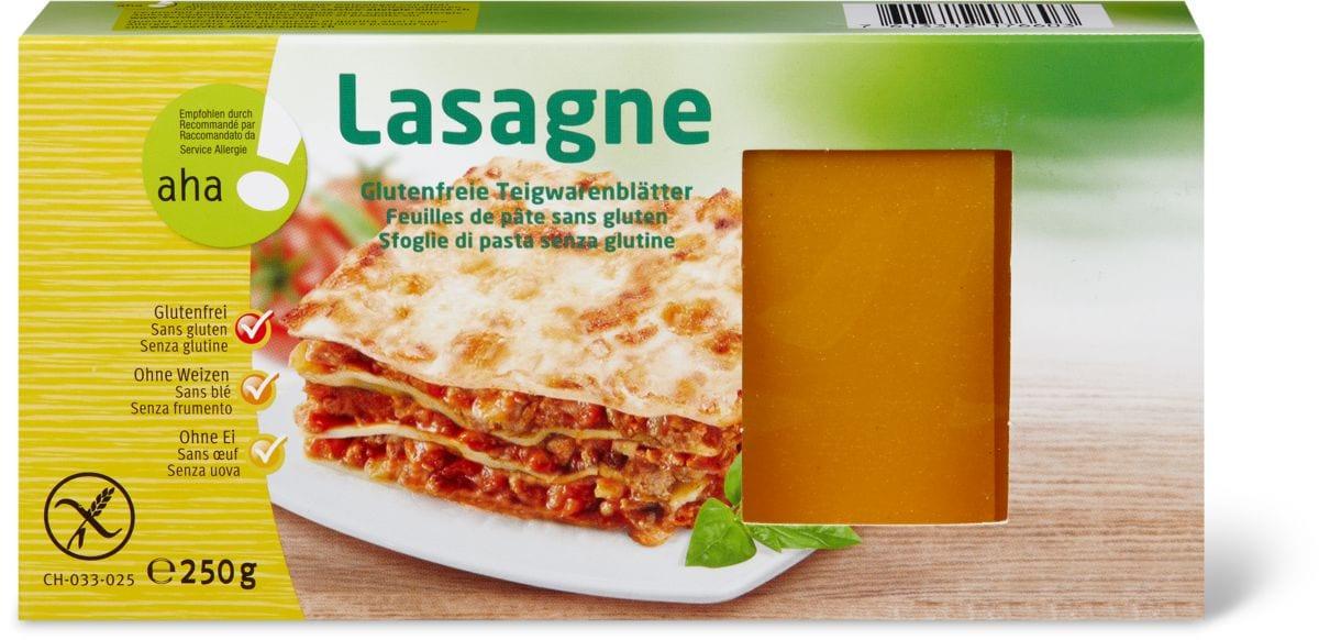 Aha! Lasagne Mais et riz