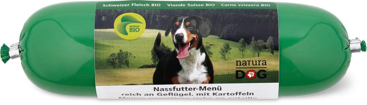 Bio naturaDOG mit Geflügel