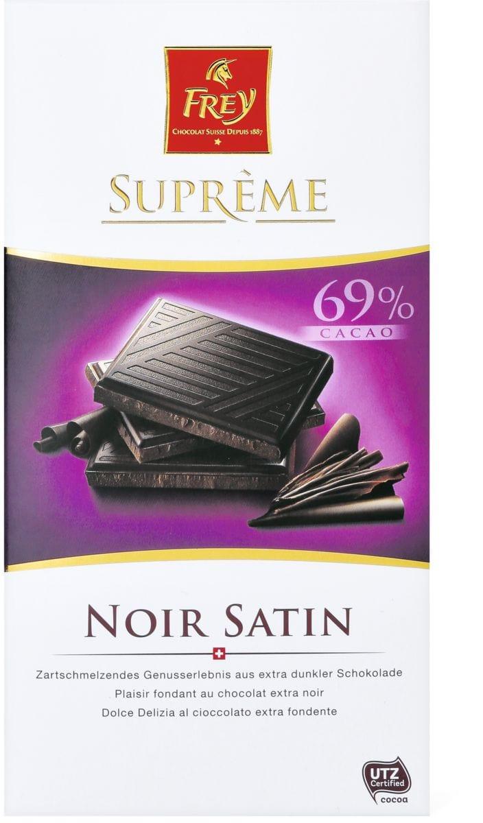 Suprême Noir Satin