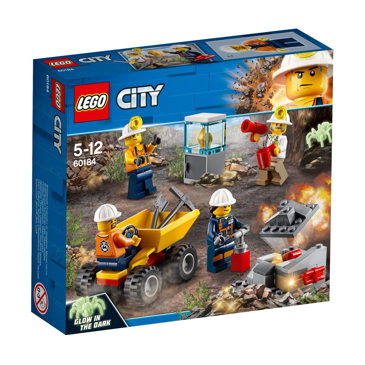 Lego City 60184 Team Della Miniera