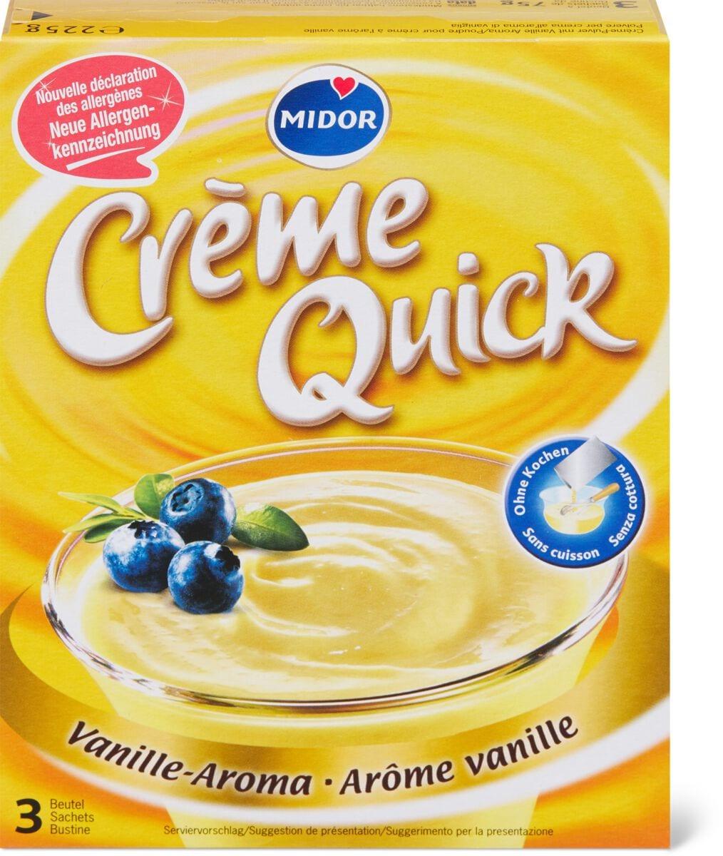 Creme Quick Vanille