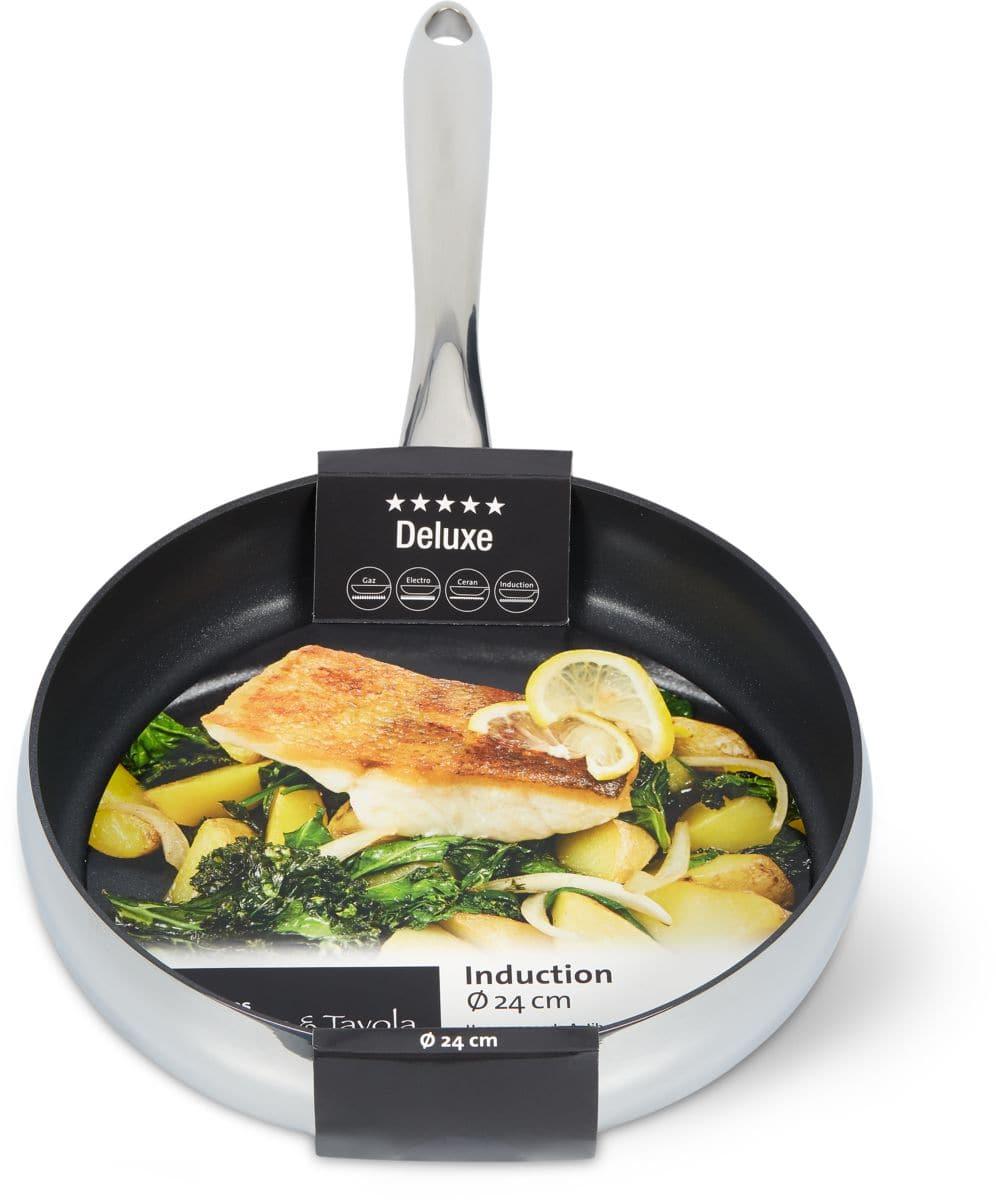 Cucina & Tavola DELUXE Bratpfanne 24cm flat