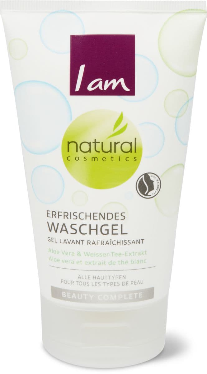 I am Natural Cosmetics gel detergente rinfrescante