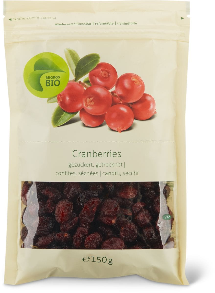 Bio Cranberries secchi