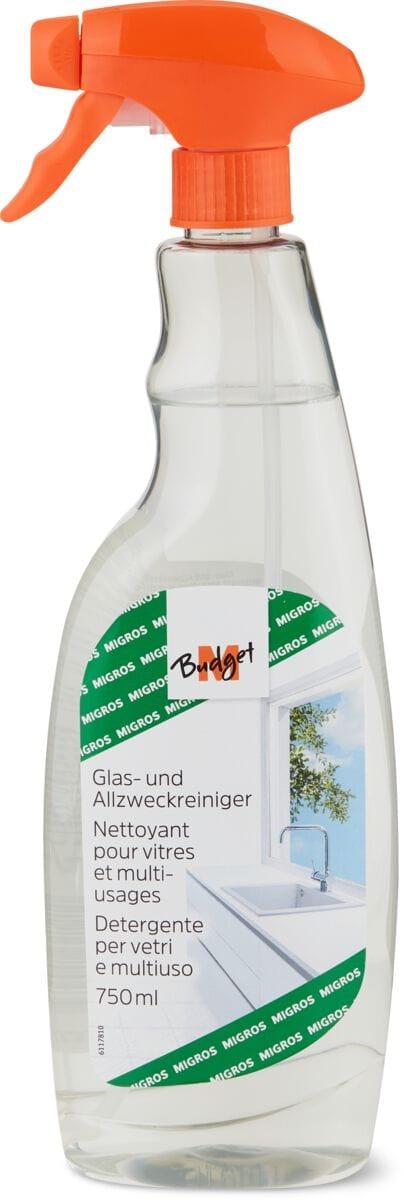 M-Budget Detergente per vetro e detergente multiuso