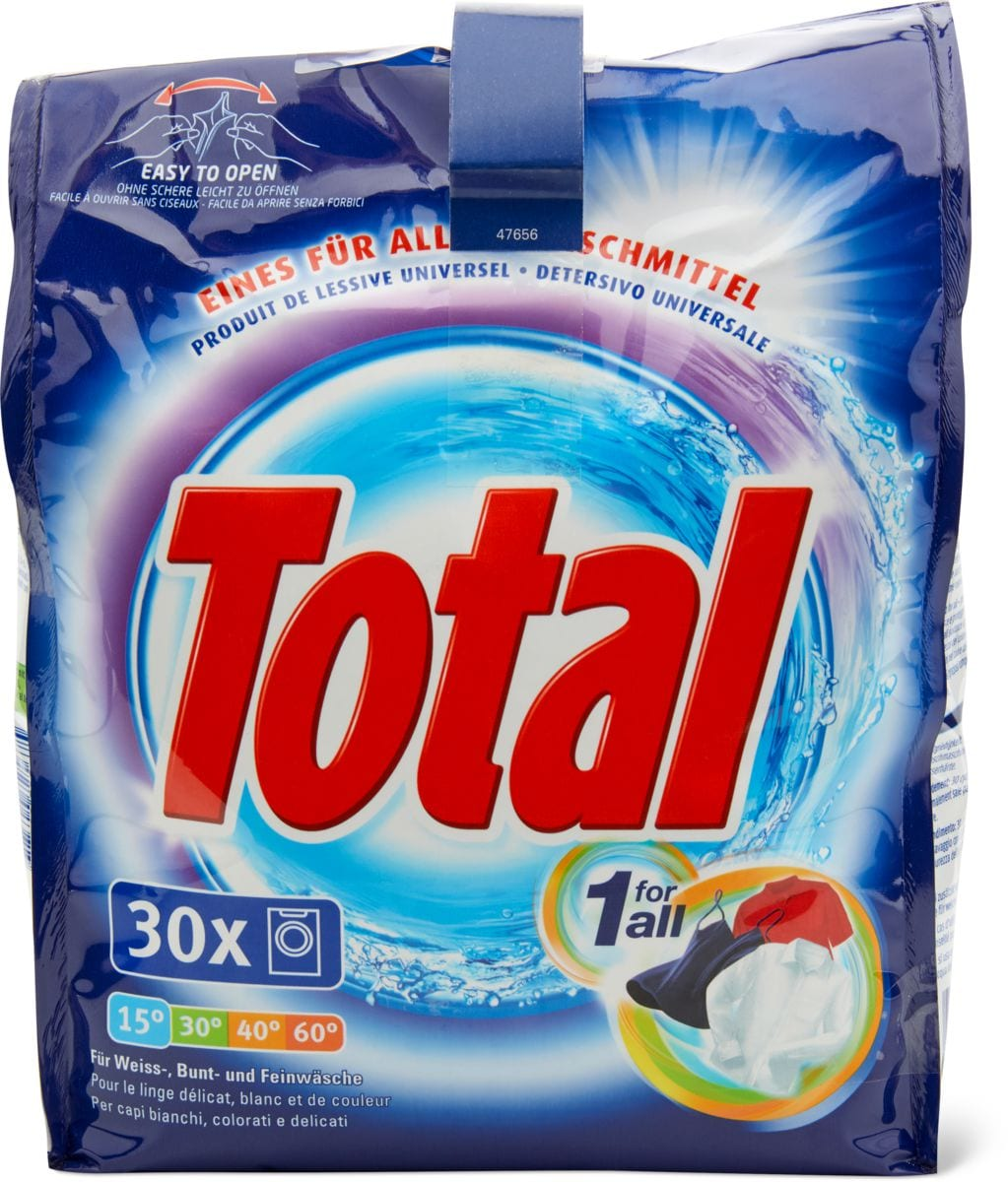 Total Waschmittel 1 for all