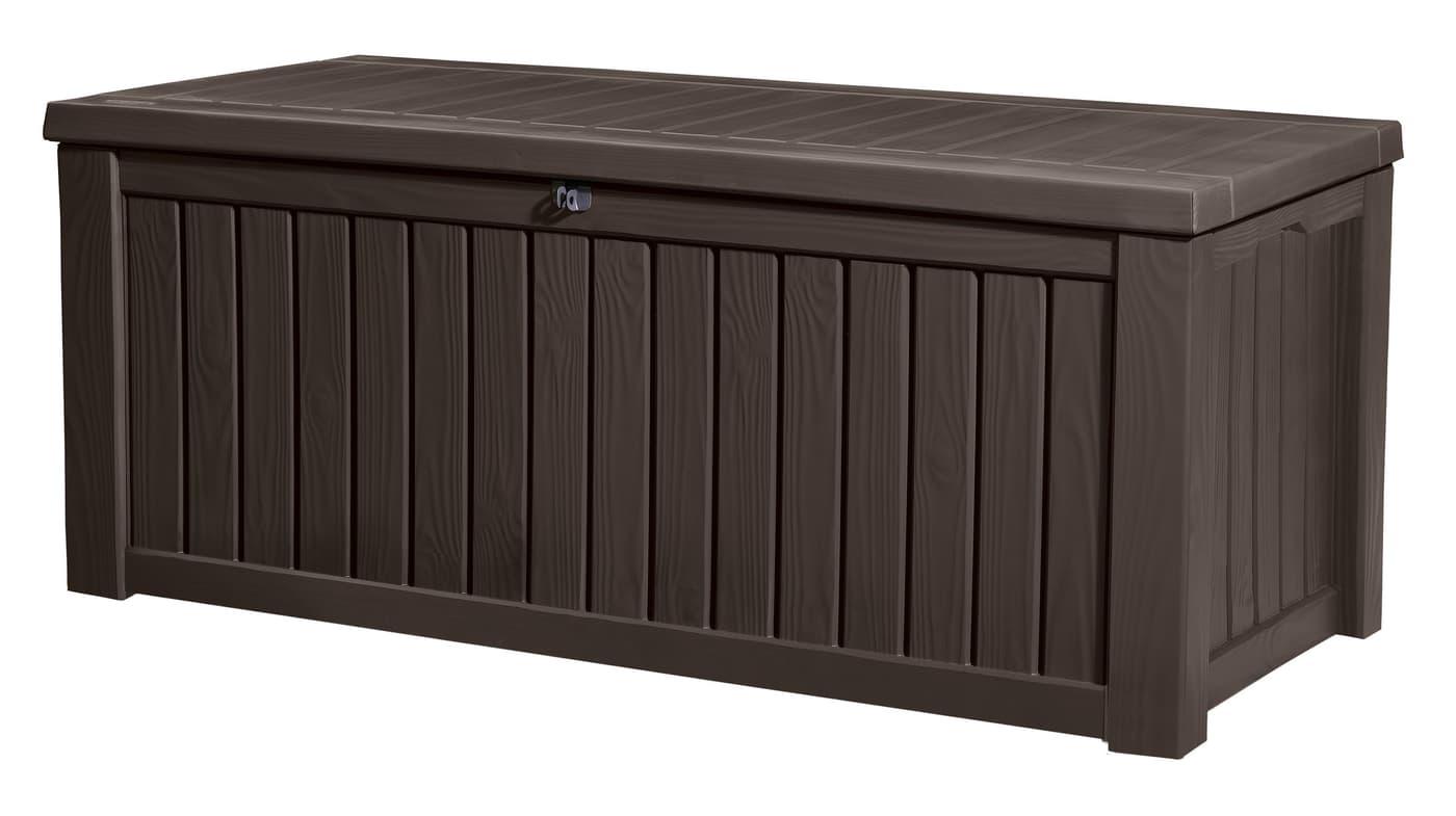 keter kissenbox rockwood braun migros. Black Bedroom Furniture Sets. Home Design Ideas