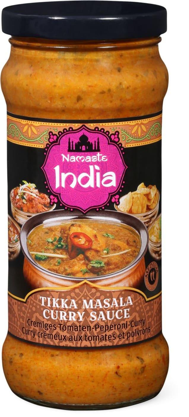 Namaste India Tikka Masala Curry Sauce | Migros