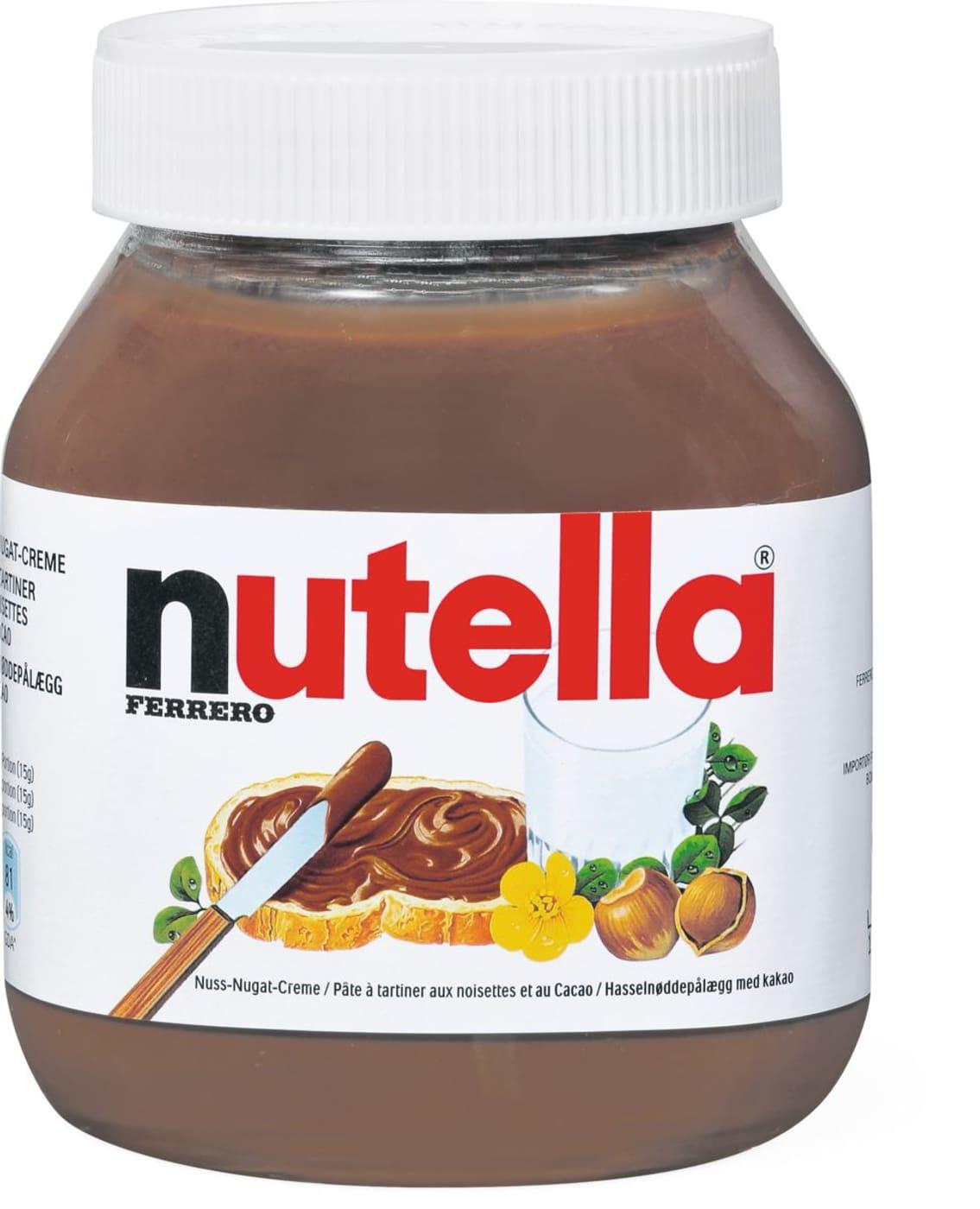 Carte Anniversaire Nutella.Nutella