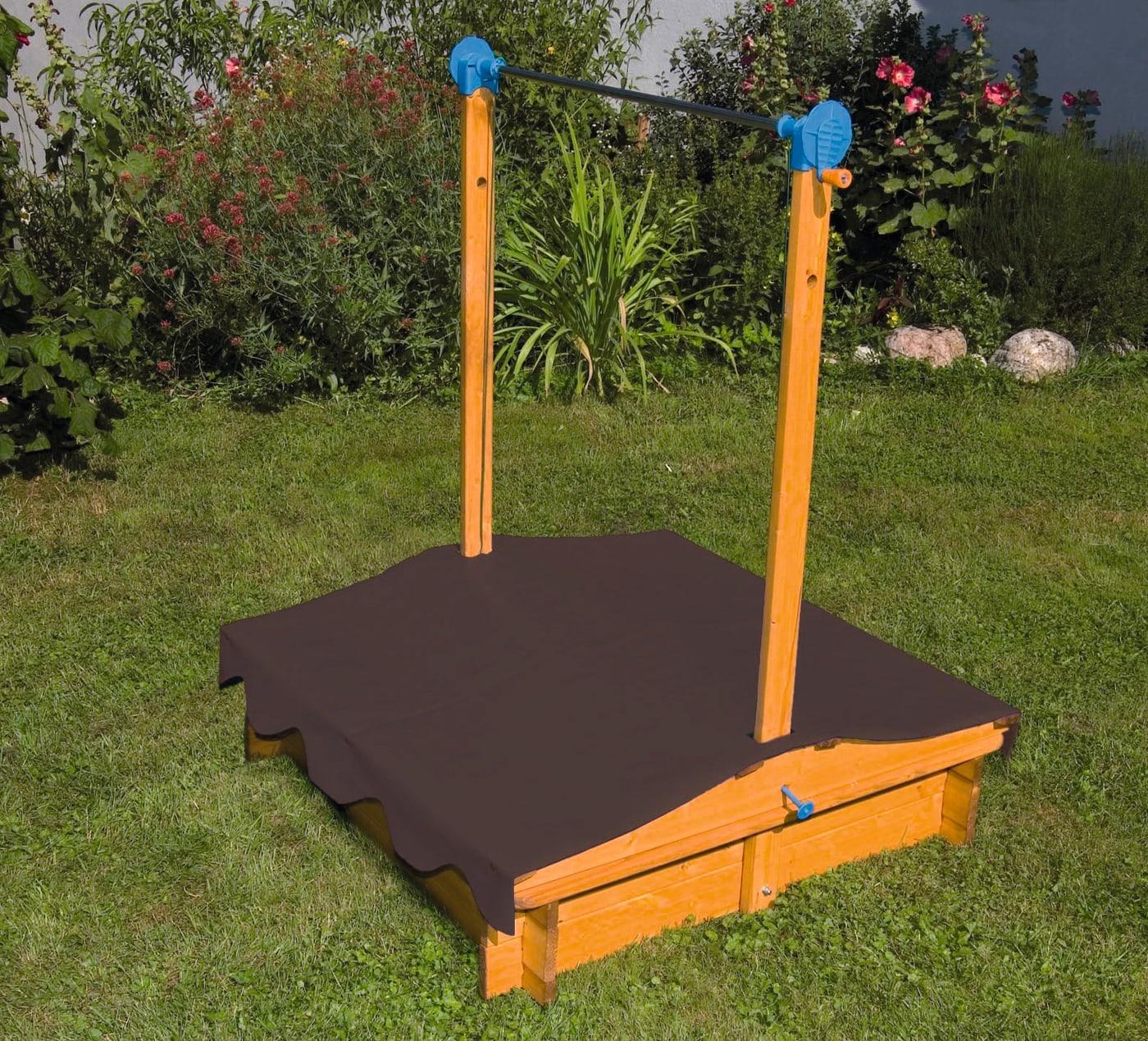 bac sable avec toit migros. Black Bedroom Furniture Sets. Home Design Ideas