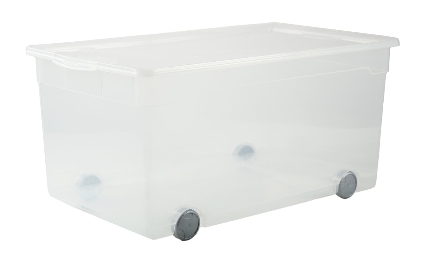 rotho clear box roller migros. Black Bedroom Furniture Sets. Home Design Ideas