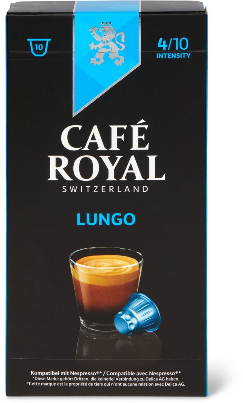 Café Royal Lungo 10 Kapseln