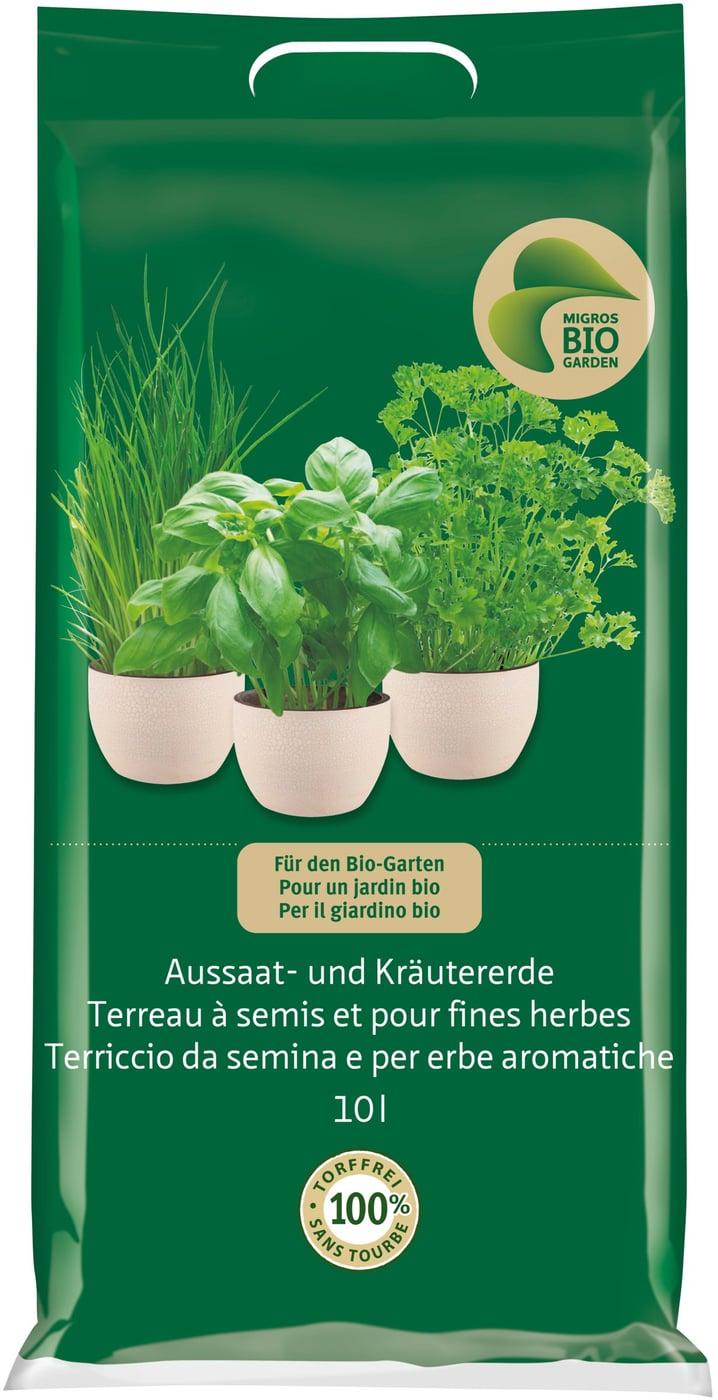 Quand Faut Il Semer Les Tournesols migros-bio garden terreau à semis et pour fines herbes, 10 l